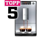 Topp 5 kaffemaskiner