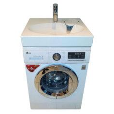 LG FH296NDA3 med håndvask og Frontmatet vaskemaskin