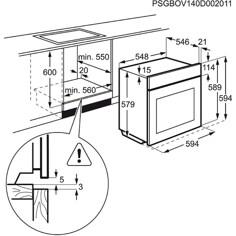Electrolux EOP600X Innbyggingsovn