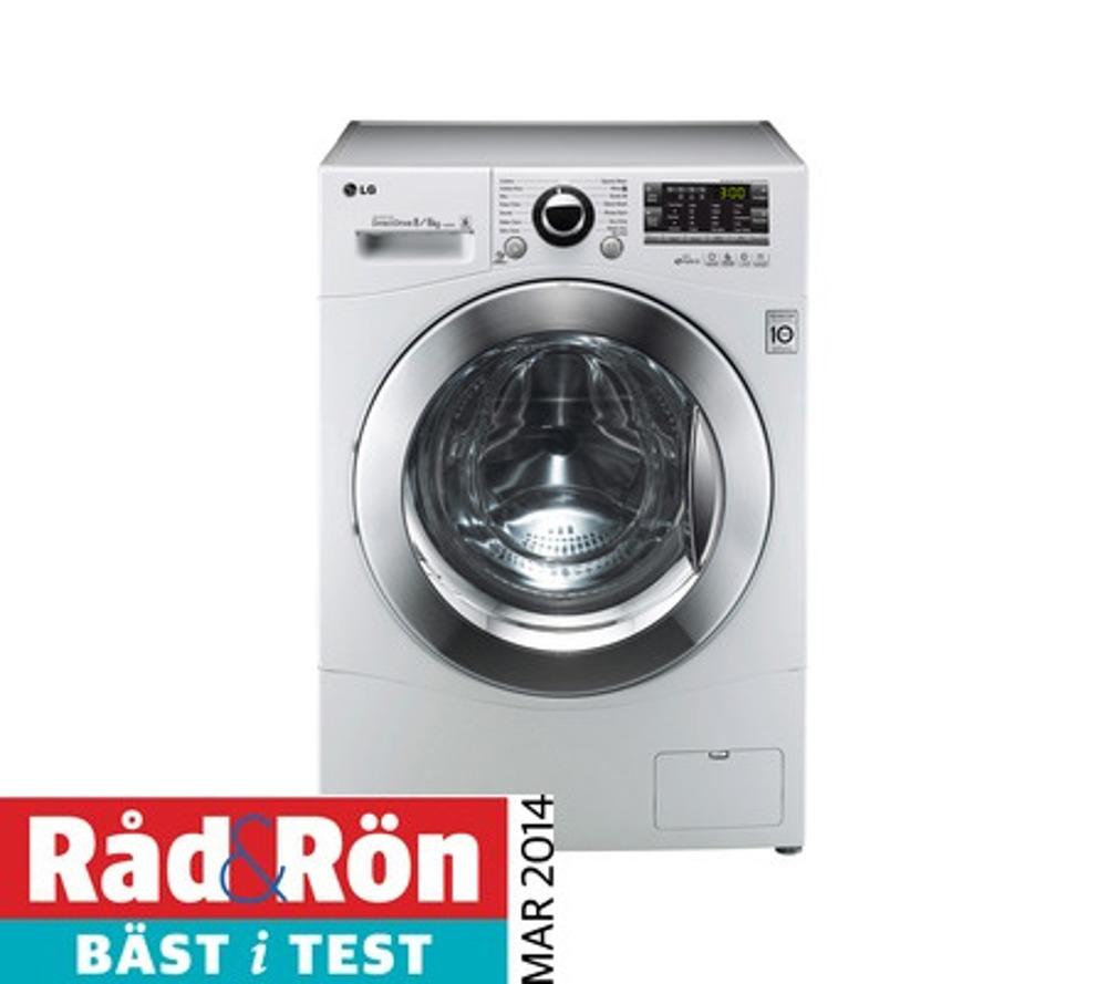 Lg vask og tørk test